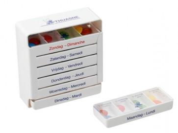 Medicijnbox Voor 7 Dagen, Nederlandse Tekst